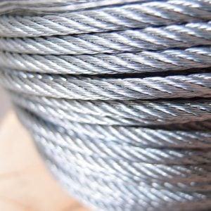 02. Wire Rope 6x12 HC Galvanis