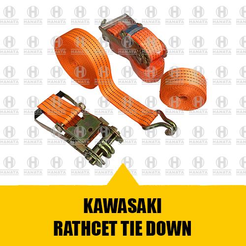 Distributor Resmi Jual Ratchet Lashing Tie Down Kawasaki Asli, Baru dan Bersertifikat Harga Terbaik Di Indonesia
