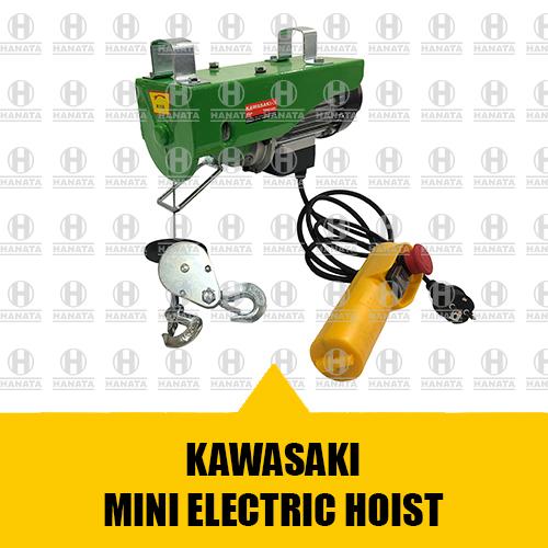 Distributor Resmi Jual Mini Hoist Kawasaki Asli, Baru dan Bersertifikat Harga Terbaik Di Indonesia