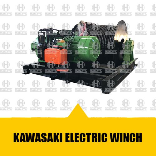 Distributor Resmi Jual Electric Winch Kawasaki Asli, Baru dan Bersertifikat Harga Terbaik Di Indonesia
