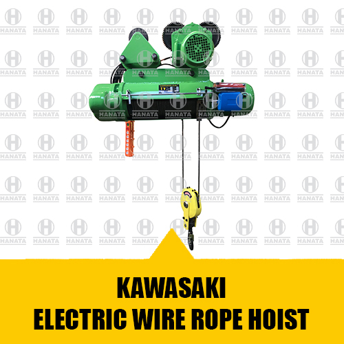 Distributor Resmi Jual Hoist Crane Kawasaki Asli, Baru dan Bersertifikat Harga Terbaik Di Indonesia